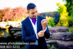 Groom getting ready for Indian wedding in NY country club. Guyanese Bride, Gujarati Groom. best wedding photographer photosmadeez, Award winning Photographer Mou Mukherjee