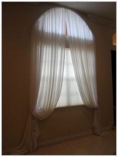 Arched Window Curtain Rod Be Nice And Good Looking Arched Window