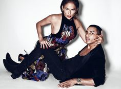Fashionably Fly: J-Lo & Olivier Rousteing for PAPER