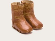 FRYE | Baby's Campus Stitching Horse Bootie - Saddle