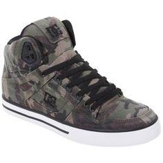 DC Shoes Spartan Hi - Men's - Camo