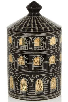 Fornasetti candle, $190, net-a-porter.com.