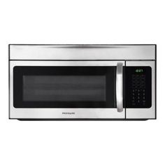 Buy the Frigidaire Stainless Steel Direct. Shop for the Frigidaire Stainless Steel Cubic Foot Over-The-Range Microwave Oven with Bake & Brown Convection Option and One-Touch Options and save. Microwave Baking, Microwave Convection, Convection Cooking, Keep Food Warm, Basic Kitchen, Round Kitchen, Kitchen Ideas, Thing 1
