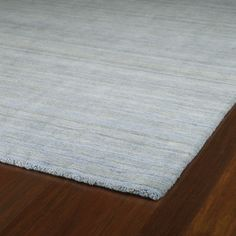 Gabbeh Hand-tufted Light Blue Rug (8' x 11') - Overstock™ Shopping - Great Deals on 7x9 - 10x14 Rugs