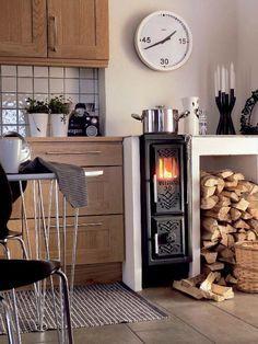kuchenherd im landhausstil design ideen holz, 170 besten stove bilder auf pinterest in 2018 | wood oven, stove, Design ideen