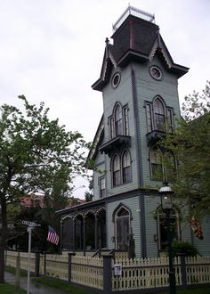 Cape May has the second largest collection of Victorians in the nation after San Francisco. Description from vintagesusieandwings.blogspot.com. I searched for this on bing.com/images