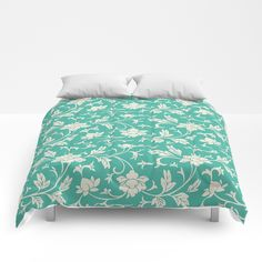 Buy Beautiful Floral Pattern Comforters by kasseggs. Worldwide shipping available at Society6.com. Just one of millions of high quality products available.