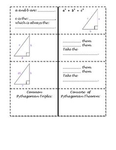 Free Pythagorean Theorem Drawing Project  Assignment Wit  Th