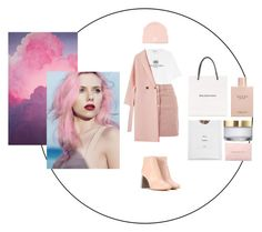 """Pastel Photo"" by ivana-andrejic ❤ liked on Polyvore featuring Balenciaga, Gucci, Topshop, adidas Originals, Acne Studios, Michael Kors, dress and pastel"