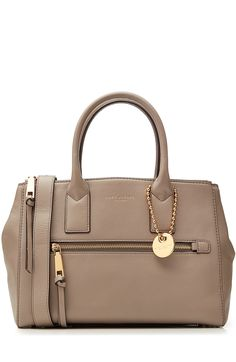 MARC JACOBS Ew Leather Tote. #marcjacobs #bags #shoulder bags #hand bags #leather #tote #lining #