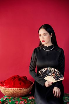 Dương Cẩm Lynh mặc áo dài, bồi hồi nhớ Tết xưa hình ảnh 7