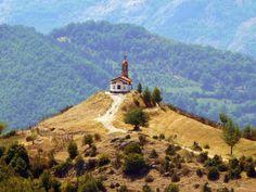 Ascension of Christ chapel near Borovo village, Rodopi mountain, Bulgaria