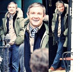 He's so handsome such a cute-eeeeee  I'm not married yet I'm saving that spot for you (MARTIN FREEMAN) or (BENEDICT TIMOTHY CARLTON CUMBERBATCH)