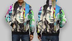 the great hoodie thame michael jackson full print by thohirshop