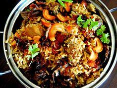 The Cooking Cauldron: Thalassery Chicken Biryani