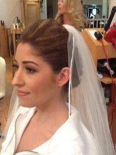 Bridal Hair #simple #bride #vail #upwork #enzoriccobenesalon