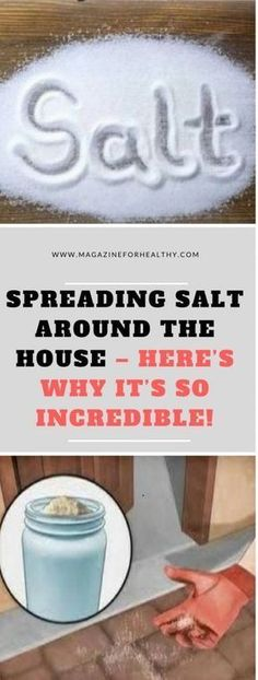 Effect baking soda Spreading Salt Around The House Heres Why Its So Incredible! Spreading Salt Around The House Heres Why Its So Incredible!