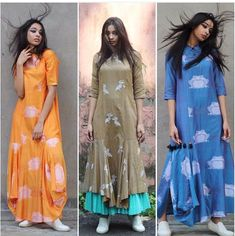 pinterest @Nk Western Dresses, Indian Dresses, Indian Outfits, Indian Attire, Indian Wear, Kurta Designs, Blouse Designs, Mehndi, Look Short