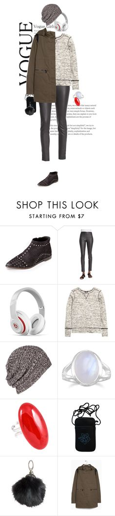 """""""my real outfit today"""" by akchen ❤ liked on Polyvore featuring Free People, The Row, Beats by Dr. Dre, H&M, AllSaints and BillyTheTree"""