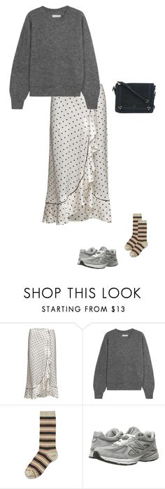 """""""Giving up"""" by andreaellegaard ❤ liked on Polyvore featuring Étoile Isabel Marant, Ganni, New Balance and Jérôme Dreyfuss"""