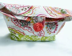 Personalized cosmetic bag monogrammed makeup bag by Baileywicks, $16.00