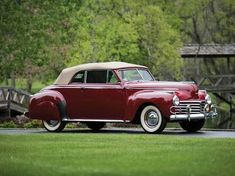 1941 Chrysler Windsor Convertible Coupe