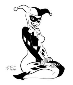 Harley Quinn - Soon you... real soon I'll have my HQ tattoo...