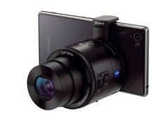 Los lentes Sony QX series son galardonados en el #CES2014