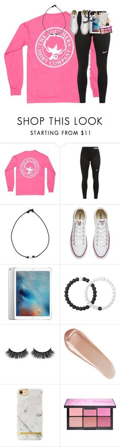 """so pumped for summer break!!☀️"" by classynsouthern ❤ liked on Polyvore featuring NIKE, Converse, Lokai, Battington, NARS Cosmetics and Eve Lom"