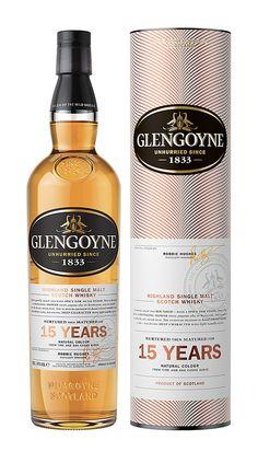 Glengoyne 15 Year Old Highland Single Malt Scotch Whisky - Glengoyne Distillery