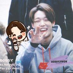 [fanart] #BOBBY at Bundang fan sign event