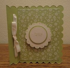 Indiana Inker - Thinking of You Card - Stampin' Up!