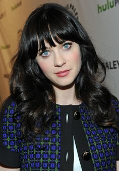 Zooey Deschanel at PaleyFest 2012 at the Paley Center for Media in Beverly Hills.