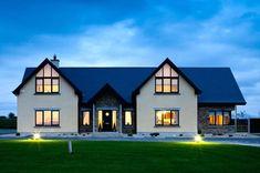 dormer bungalow plans architect designed homes home design concepts beautiful inspir. House Plans Uk, Bungalow House Plans, Bungalow House Design, Dormer House, Dormer Bungalow, Bungalow Exterior, Dream House Exterior, Exterior Homes, House Designs Ireland