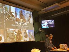 Boston Bronze and Stone Speak To Us: Boston Bronze and Stone Talk at U of Mass Boston a...