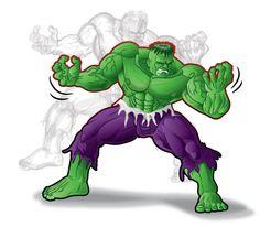 #Hulk #Animated #Fan #Art. (Hulk) By: Sezuko704. ÅWESOMENESS!!!™ ÅÅÅ+