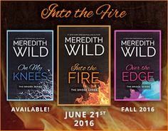 Books,Chocolate and Lipgloss: ❤❤MEREDITH WILD'S pre-order + giveaway for the BRIDGE SERIES is available now! ❤❤