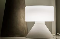 Concrete Table Lamp / Innolux / Design Samuli Naamanka