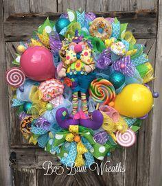 Birthday Party Birthday Decor Clown Decor Clown by BaBamWreaths