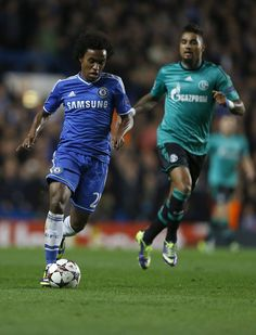 GOAL!!! Superb football from Chelsea.   Eto'o gets his second after great work from Willian!   Chelsea 2-0 Schalke! 53mins played. #CFC