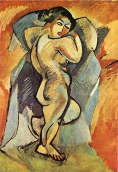 Big Nude, 1908 - Georges Braque - WikiArt.org