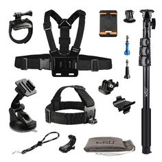 New Cheap Useful Accessories Kit for GoPro Hero 5 Black