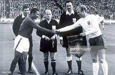 Bobby Moore England Queen Pre-match Handshake Poster