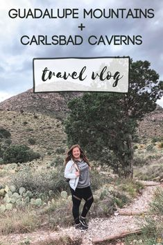 My travel vlog from our Guadalupe Mountains National Park and Carlsbad Caverns is up! We had a blast on the trip and I can't wait to go back again! Travel Vlog, Travel Usa, Guadalupe Peak, Guadalupe Mountains National Park, Carlsbad Caverns National Park, American National Parks, Mexico Travel, Weekend Trips, New Mexico