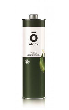 OLVION PGI Laconia Extra Virgin Olive Oil 750ml Round Tin - Agrovim - Olive Oil and Olives from Greece