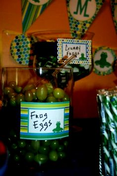 Year Frog Party Food Ideas Leap Year Frog Party Food Ideas — this healthy version of a frog egg snack features grapes.Leap Year Frog Party Food Ideas — this healthy version of a frog egg snack features grapes. Leap Year Birthday, Frog Birthday Party, 3rd Birthday Parties, 4th Birthday, Birthday Ideas, 30th Party, Birthday Wishes, Princesa Tiana, Frog Princess