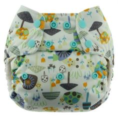 Blueberry One Size Simplex All-In-One Diaper