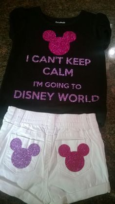 A cute outfit that expresses somebody's feelings about going to Disney World