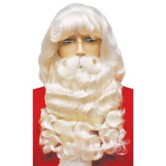 Supreme Santa Wig and Beard Set 007 #santaclaus #santacostume
