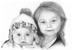 Hand-Drawn Portraits, Free UK Delivery | Paul Brian Fine Art | Gallery